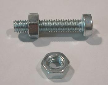 Schrauben Auswahl M8 M12 Edelstahl Gewinde Enden Stange L 30-200mm